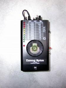 Esmog-Spion mit Lichtmodul Frontansicht
