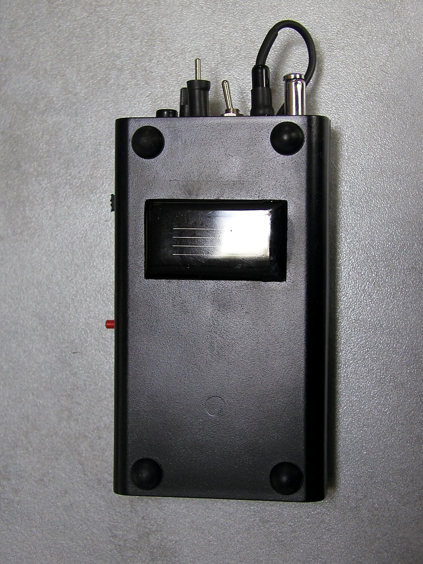 Esmog-Spion mit Lichtmodul Rückseite
