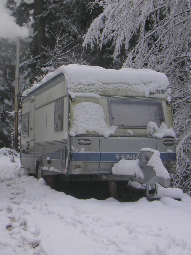 Der erste Schnee - November 2013