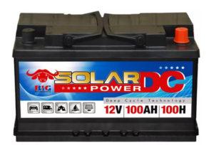 BIG Solar-Power DC 12V 100Ah DIN 95602