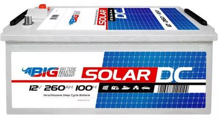 BIG Solar Professional EFB 12V 260Ah